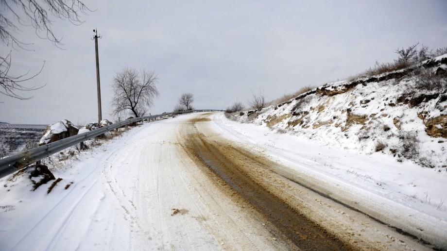 Circulația rutieră a fost sistată pe o porțiune din traseul Taraclia-Cahul