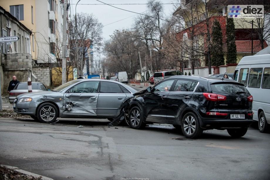 (grafic) Chișinău: Topul străzilor cu cele mai multe accidente rutiere soldate cu decese în 2016