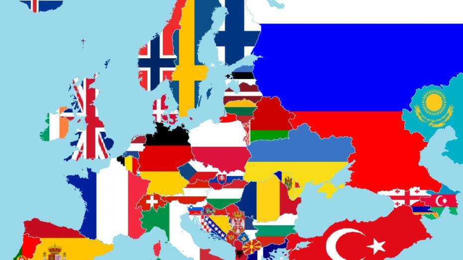 (hartă) 14 hărți care te vor face să vezi  altfel continentul european