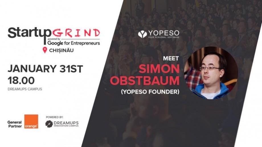 Fondatorul YOPESO își va relata povestea lui de succes în domeniul IT cu tinerii pasionați de tehnologii