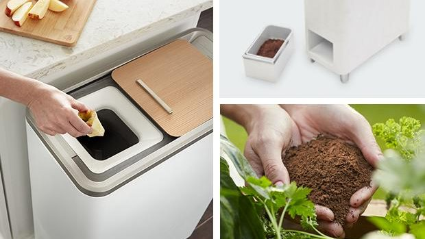 (video) Coşul de gunoi care transformă resturile de alimente în îngrăşământ pentru plante