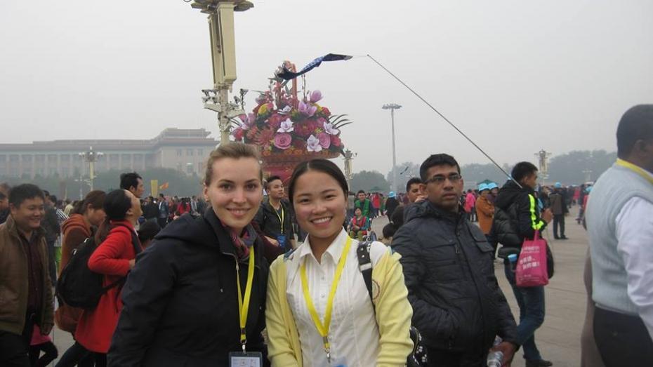 (foto) Impresiile din China a unei tinere cercetătoare științifice în economie din Moldova