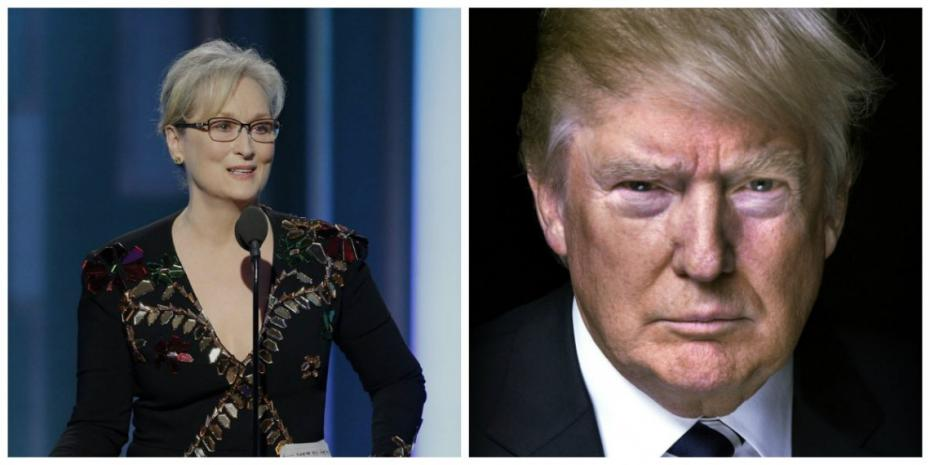 (video) Actorii au profitat de Globurile de Aur pentru a-l sfida pe Trump. Replica dură rostită de Meryl Streep