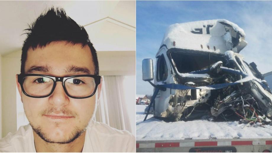 Povestea tânărului care a rămas fără picioare în urma unui grav accident rutier în SUA
