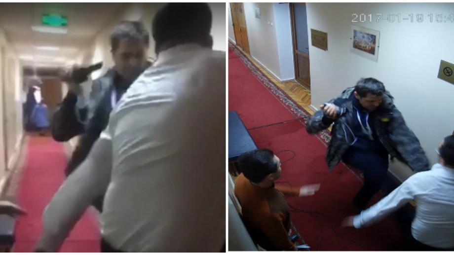 (video) Un vicepretor s-a ales cu un deget rupt după ce ar fi fost agresat fizic de Ghenadie Brega