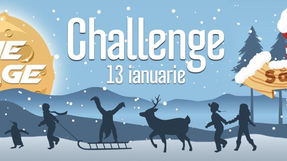 """(video) Lasă Facebookul și hai la """"Săniuș Challenge"""" – o nouă provocare pentru tinerii din Chișinău"""