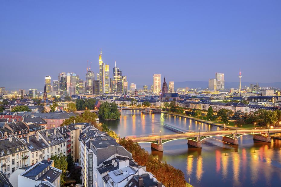 Frankfurt Photo Credit: Evening Standard