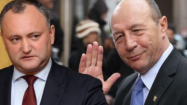 Traian Băsescu îl cheamă în judecată pe Igor Dodon pentru că i-a retras cetățenia. Cerearea, depusă la CSJ