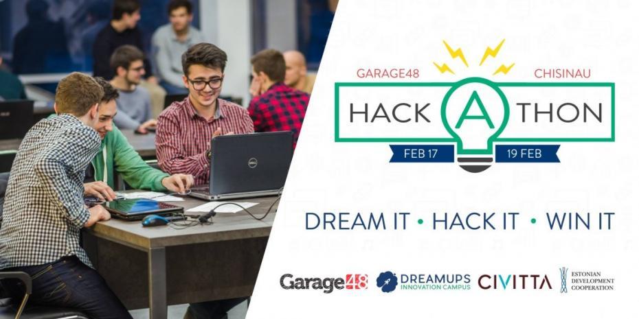 Participă la Garage48 Hackathon Chișinău 2017 și transformă-ți ideile creative în prototipuri funcționale