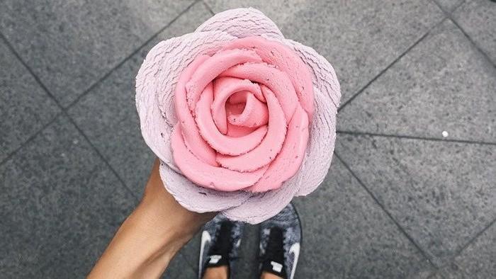 (foto) Frumoasă și delicioasă! Cel mai nou trend în materie de înghețată – floarea din gelato