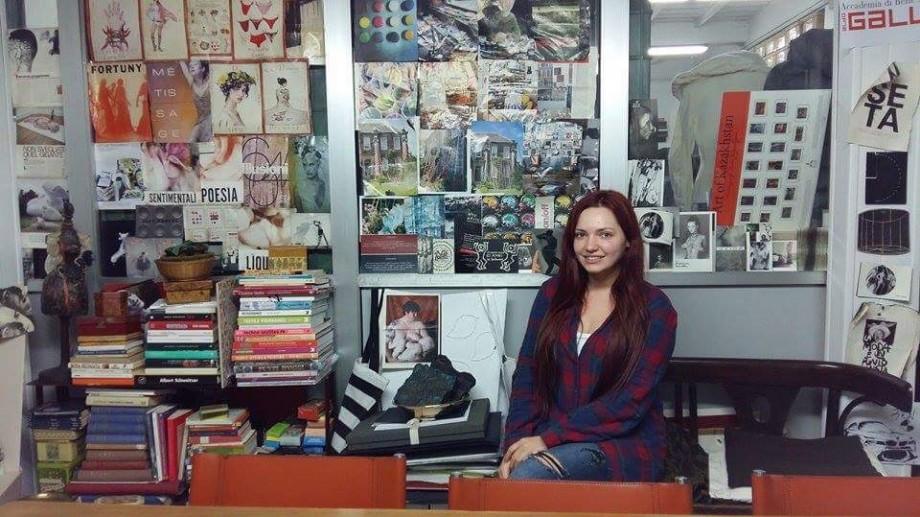 (foto) Cunoaște experiența Cristinei Postolachi, tânăra de la UTM care studiază designul vestimentar în Italia