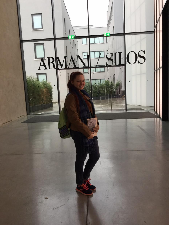 În vizită la muzeul Armani/Silos