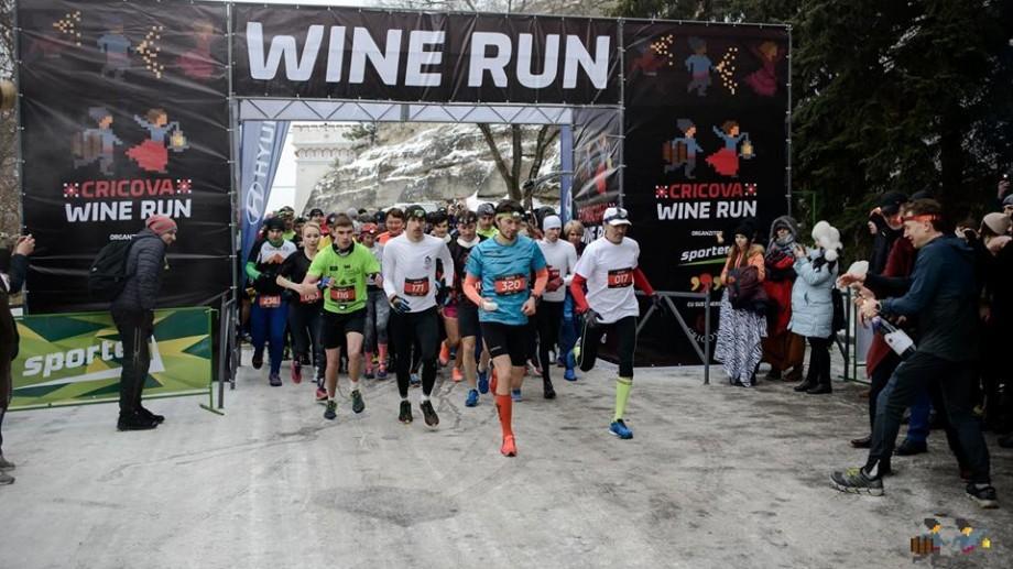 (foto) Peste 300 de sportivi au alergat la o adâncime de 100 de metri. Cum s-a desfășurat Cricova Wine Run 2017