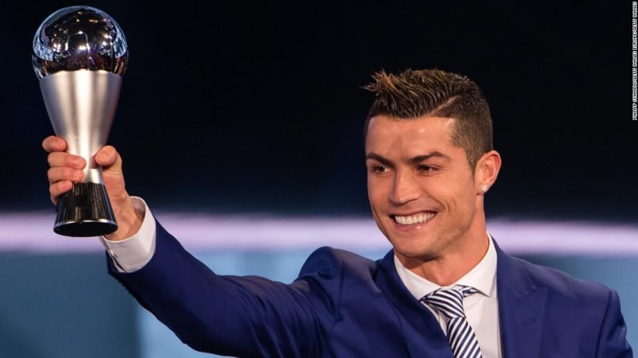 (video) Gala FIFA: Cristiano Ronaldo a fost desemnat cel mai bun jucător al anului 2016
