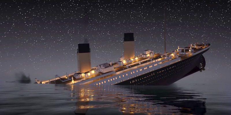 (video) O nouă teorie spune că Titanicul s-ar fi scufundat din cauza unui mare incendiu