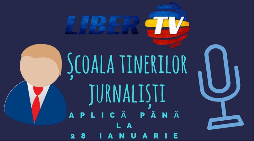 "Tinerii pasionați de jurnalism pot participa la ""Școala Tinerilor Jurnaliști"""
