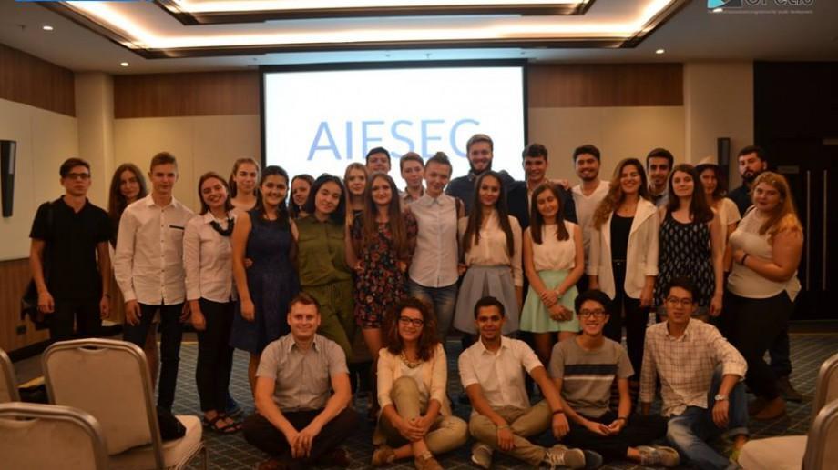 AIESEC Chișinău recrutează tineri energici care sunt în căutare de noi experiențe