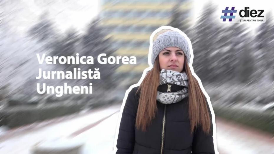 (video) Unde-s tinerii. Veronica Gorea, despre provocarea de a fi un tânăr jurnalist la Ungheni
