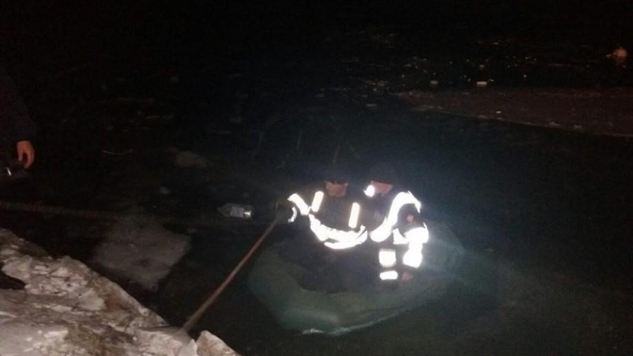 (foto) Salvare neobișnuită! Polițiștii au recuperat o lebădă singuratică din apele înghețate ale Nistrului