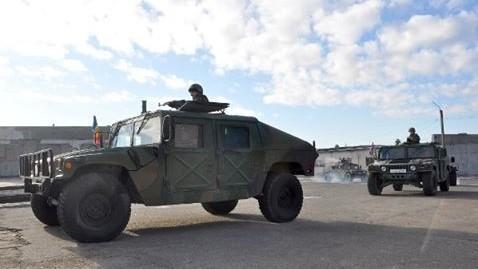 Armata Națională a primit 41 de vehicule militare din partea SUA