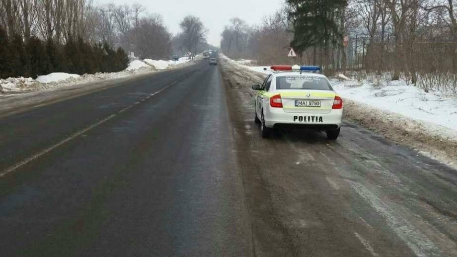 (foto) Atenție, șoferi! Poliția de patrulare este prezentă pe drumurile naţionale