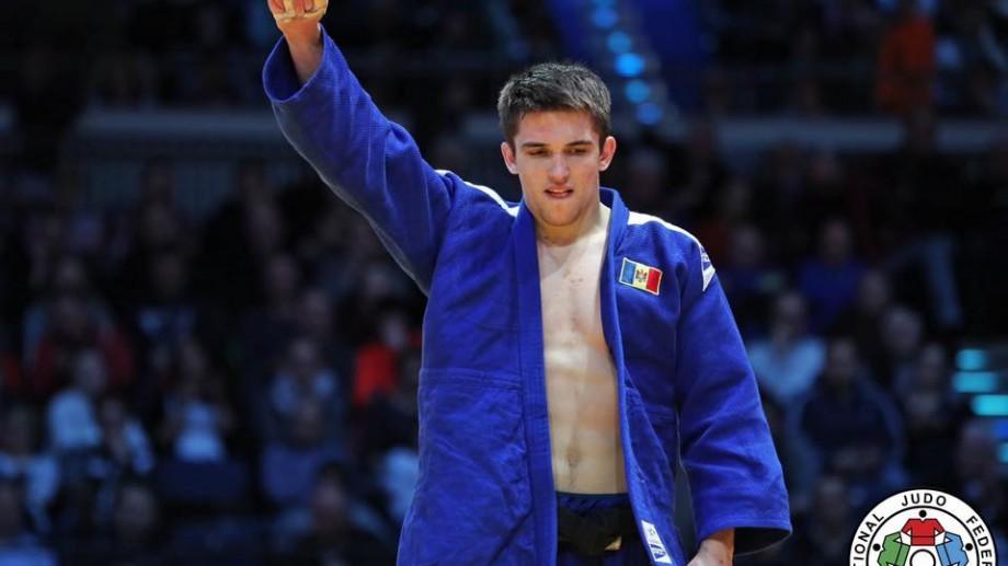 Medalie bronz pentru judocanul moldovean Dorin Goţonoagă la Grand Prix-ul de la Dusseldorf