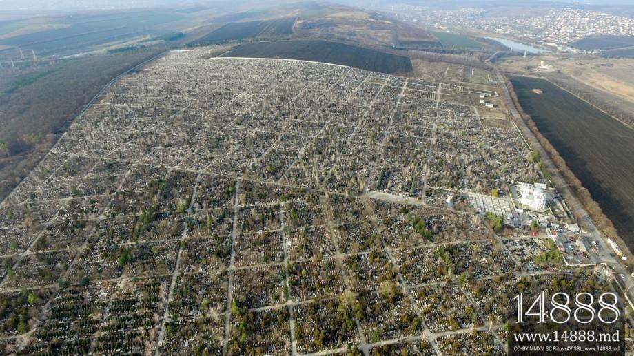 """Cimitirul """"Sfântul Lazăr"""" a devenit neîncăpător. Acesta ar putea fi extins din nou"""