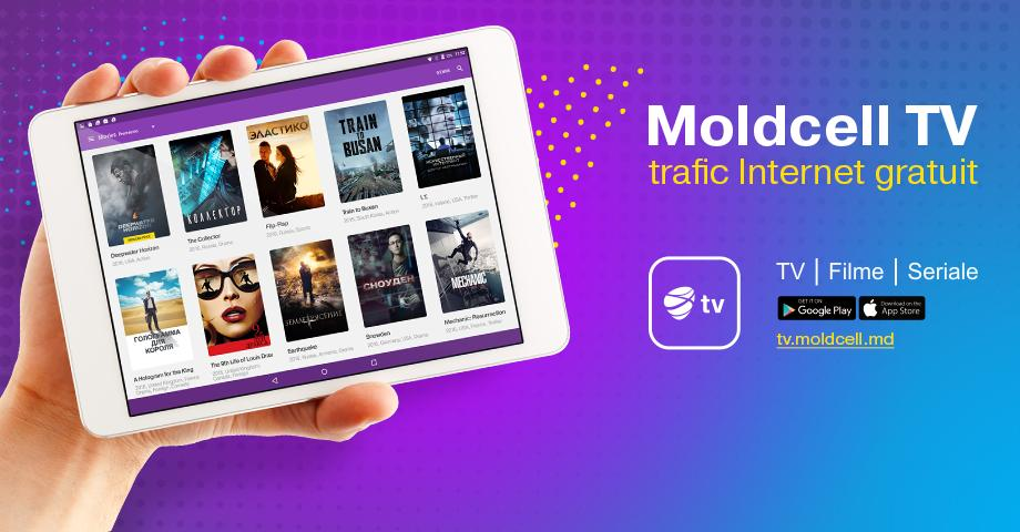 Sherlock, Inferno și Harry Potter la Moldcell TV, cu trafic Internet gratuit