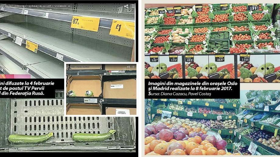 STOP FALS! Supermaketurile din Europa se confruntă cu un deficit de legume