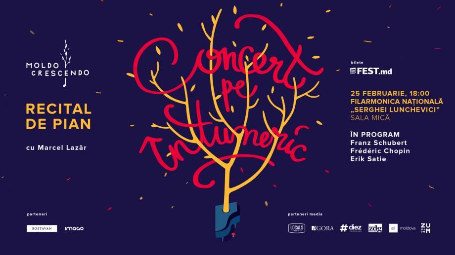 """Un nou """"recital de pian pe întuneric"""" va fi pus în scena Sălii Mici a Filarmonicii """"Serghei Lunchevici"""""""