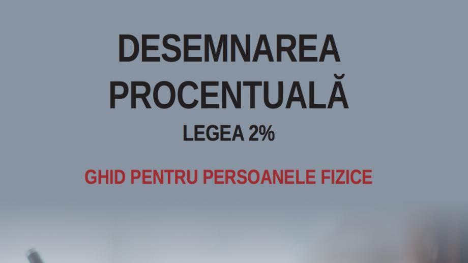 Ghid pentru persoanele fizice privind redirecționarea a 2% către organizațiile societății civile
