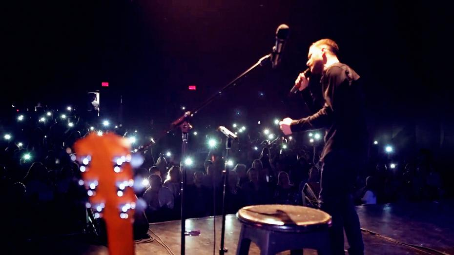 Vocile Curajului Montreal crowd stage