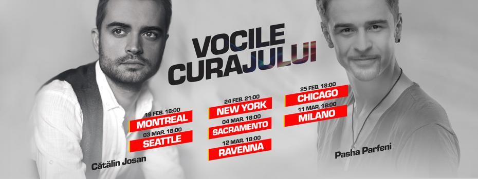 Vocile Curajului tour dates