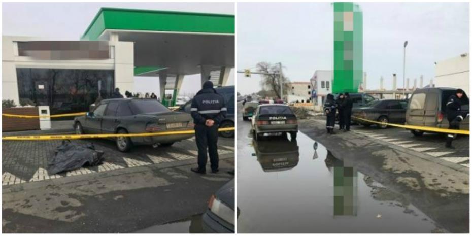 (video) Reglări de conturi la Stăuceni. Un bărbat a fost împușcat la un service auto