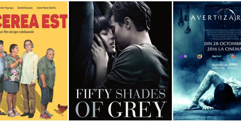 (video) Fifty Shades Darker sau Afacerea Est? Ce filme mai poți viziona la cinema în luna februarie