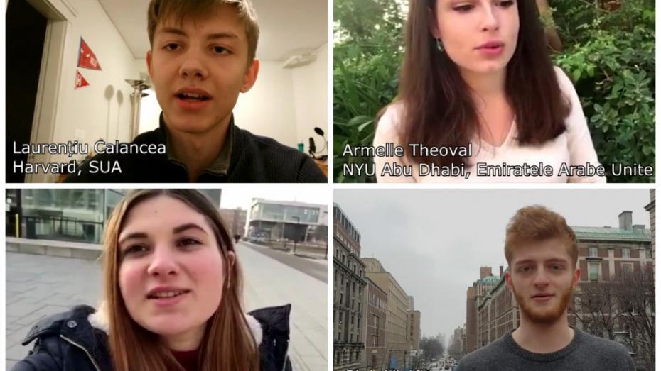 (video) Ce zic despre liceele din Moldova 10 tineri care-și fac studiile la cele mai prestigioase universități din lume