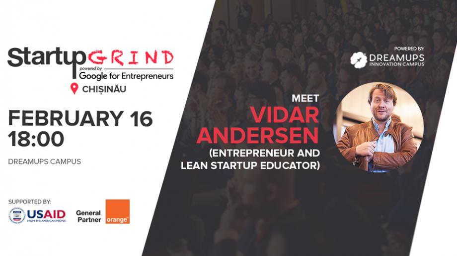 Cunoaște-l pe Vidar Andersen – persoană cheie în dezvoltarea comunității de startupuri din Germania
