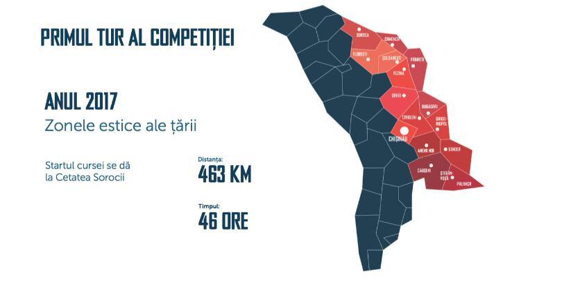 harta competiției
