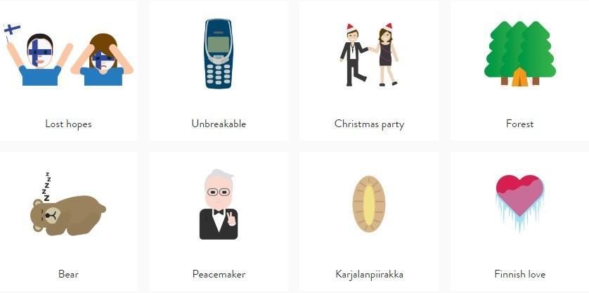(foto) Metodă inedită de promovare a țării. Finlanda și-a lansat propriile emoticoane
