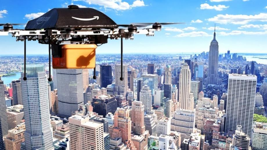 (video) Amazon ar putea face livrări la domiciliul clienților cu ajutorul dronelor prin parașutarea coletelor