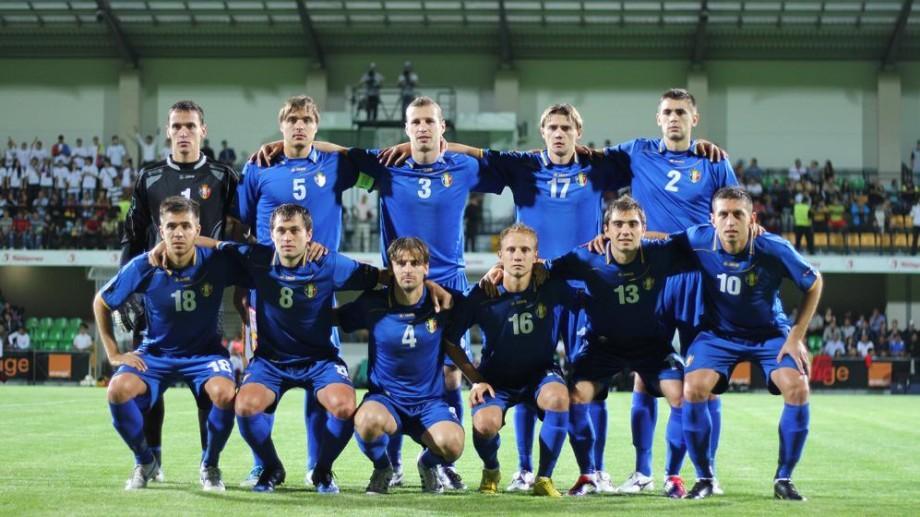 Naţionala de fotbal a Moldovei a urcat o treaptă  în clasamentul FIFA