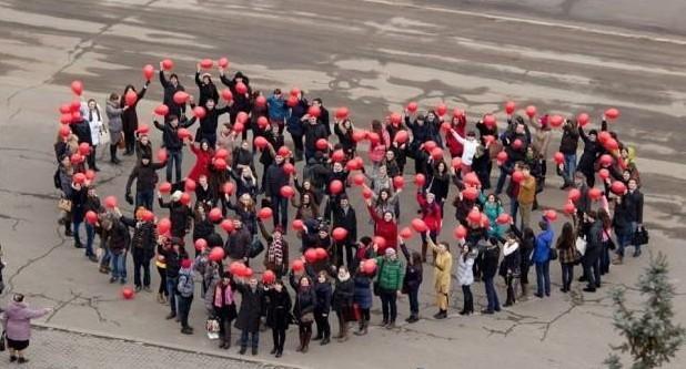"""O inimă, simbol al campaniei """"Fără ură"""", va fi creată de 1 martie la Chișinău"""