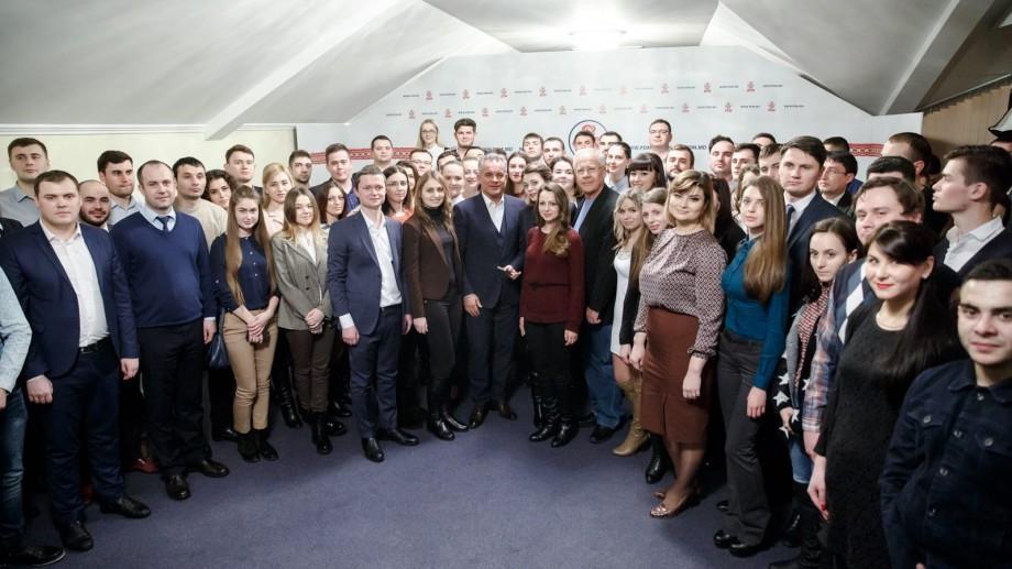 (foto) Plahotniuc s-a întâlnit cu tinerii democrați. Iată ce sfaturi le-a dat acesta