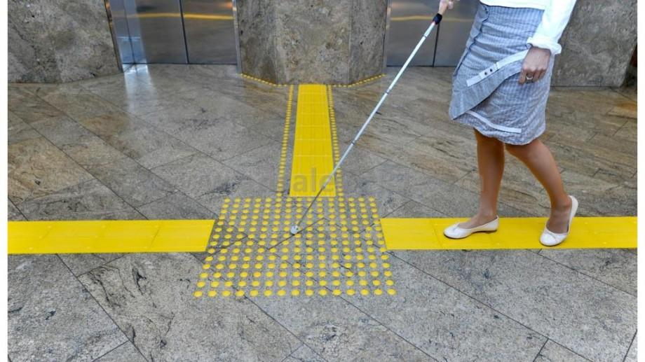 Pe străzile din Chișinău va fi pus pavaj tactil pentru persoanele cu dizabilități