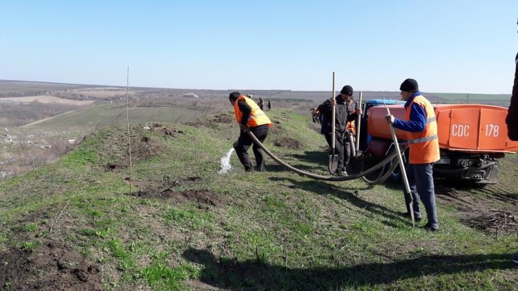 (foto) Primăria a găsit un lot de teren pentru amenajarea unui nou platou de depozitare a deșeurilor