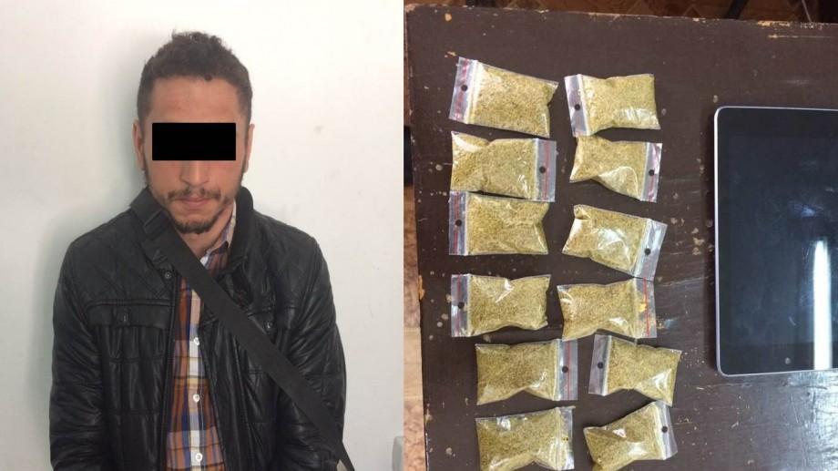 Un tânăr de 20 de ani a fost surprins de polițiști consumând droguri într-un parc de la Botanica