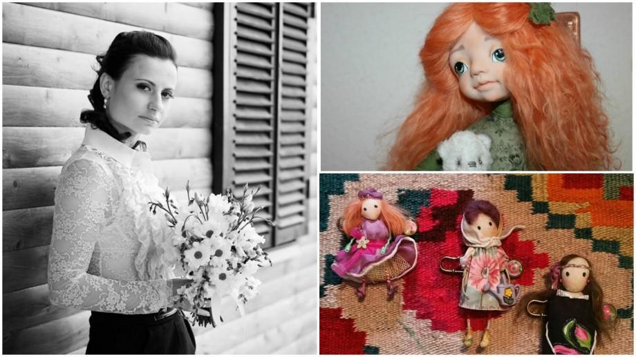 (foto) Gaby Galamaga – tânăra care crede în păpuși și creează jucării deosebite în Germania