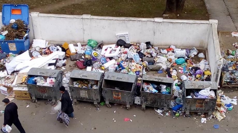 (foto) Mormanele de deșeuri din capitală – pericol real pentru sănătate