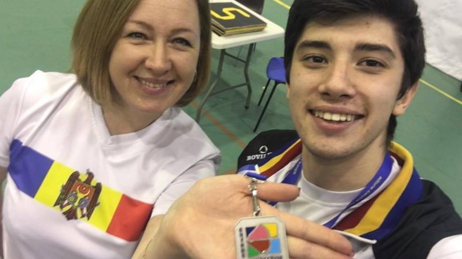 (foto) Dan Olaru a devenit vicecampion european la tir cu arcul