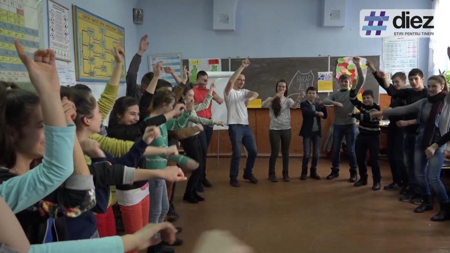 """(video) Unde-s tinerii. Timp de cinci luni, elevi din trei sate din Ungheni își dezvoltă capacitățile la """"Harap Alb"""""""